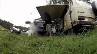 getlinkyoutube.com-One of the best VW T3, T25, Vanagon Syncros in the world filmed on a Varavon