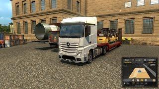 getlinkyoutube.com-Euro Truck Simulator 2 Public Beta 1.20.2s GPS ROUTE CUSTOMIZATION
