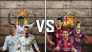 getlinkyoutube.com-Ronaldo,Rodriguez,Bale VS Messi,Suarez,Neymar    Who Has the Best trio ?    HD   