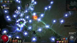 Sire of shards support build PoE