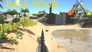getlinkyoutube.com-ARK : Survival Evolved - Base Tour