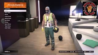 getlinkyoutube.com-*NEW* GTA 5 Online Glitch Bulletproof Helmet With Any Mask Or Bandana After Patch 1.30