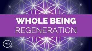 getlinkyoutube.com-Whole Being Regeneration - Full Body Healing - 3.5 Hz & 7.83 Hz Binaural Beats