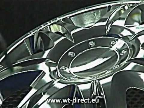 Chrome paint, Silver Mirror Technology and Water transfer print