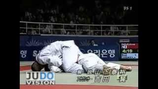 getlinkyoutube.com-JUDO 2002 Asian Games: Kosei Inoue 井上 康生 (JPN) – Abdullo Tangriev (UZB)