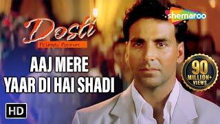 Mujhe Jhoom Jhoom Ke | Dosti Songs | Akshay Kumar | Juhi Chawla | Bobby Deol | Filmigaane