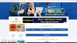 getlinkyoutube.com-My Paying Ads Review $1 Revshare Advertise and get Paid 10000 dollar 2016