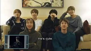 BTS reacting to LIE // MAMA [ENG SUBS]