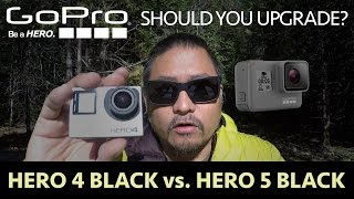 GoPro Hero 5 vs. Hero 4: Should You Upgrade?