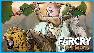 getlinkyoutube.com-Far Cry Primal Funny Moments Gameplay! - Beasts, Lions, and Taking an Outpost! (FCP Funtage)