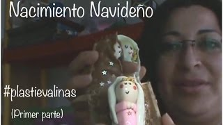 getlinkyoutube.com-NACIMIENTO NAVIDEÑO/plastilina tutorial/ PLASTIEVALINAS (primer parte)