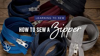 getlinkyoutube.com-Learning to Sew Part 5: How to Sew a Zipper