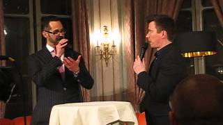 getlinkyoutube.com-Rick Astley live in Lucerne, Hotel Schweizerhof, 10.5.2013 - Interview