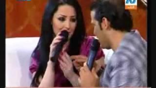 getlinkyoutube.com-ديانا كرزون تتحدى سعد الصغير