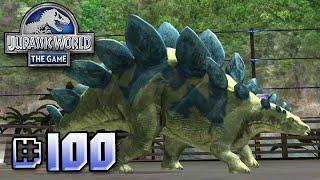 getlinkyoutube.com-Brawlasaurs!! || Jurassic World - The Game - Ep 100 HD