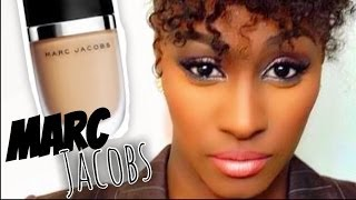 getlinkyoutube.com-Updated Foundation Routine '14: MARC JACOBS Genius Gel Super Charge Foundation