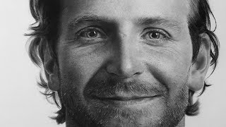 getlinkyoutube.com-Hyperrealistic Drawing Of Bradley Cooper(Time Lapse)