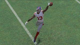 getlinkyoutube.com-Can Odell Beckham Jr Catch a Pass??? What Happened to His Hands!!?? Madden 17 Challenge