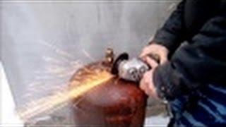 getlinkyoutube.com-Как безопасно разобрать газовый баллон.