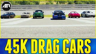 getlinkyoutube.com-Forza Horizon 2 Online : 45K BUDGET DRAG CAR CHALLENGE!!! w/ AR12 ARMY