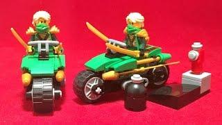 getlinkyoutube.com-SY 닌자고 로이드의 오토바이 사이클 오버보그 공격 레고 짝퉁 조립 리뷰 Lego knockoff ninjago 70722 OverBorg Attack