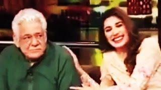 Om Puri's Funny Joke Makes Mehwish Hayat Go Crazy - Mazaaq Raat