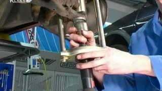 getlinkyoutube.com-Ball Joint repacement Mercedes (KL-0326-10, KL-0043-822)