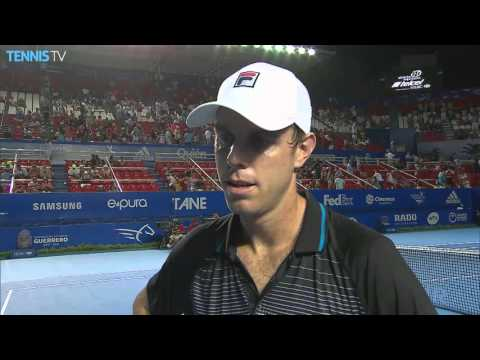 Querrey Reflects On 2R Acapulco Upset