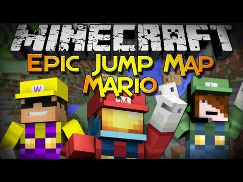 Minecraft: Epic Jump Map - Mario Edition (Part 4) -E2p639scylM