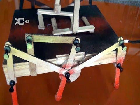 Cómo hacer un Robot Casero Araña