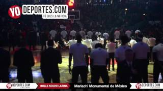 Mariachi Monumental de Mexico Bulls vs  Houston Rockets