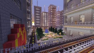 Minecraft Xbox - Galaxy City - World Tour - Part 1