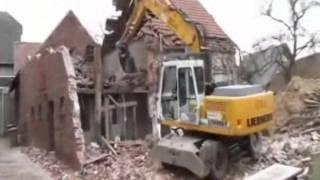 Abriss eines alten Bauernhauses (Wulfener Str. 7a) - 19.03.2010