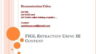 getlinkyoutube.com-SAP BW: FI Extraction Part 2 - Extract Data and Model InfoProviders