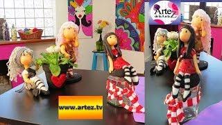 getlinkyoutube.com-Cómo hacer muñecas con porcelana fría