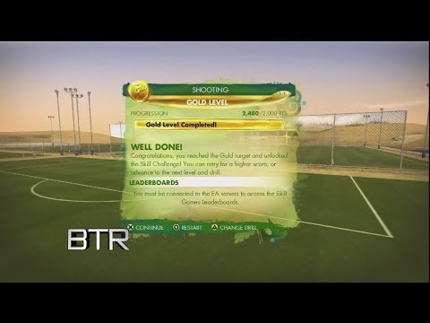 2014 Fifa World Cup Skill Games Advanced Shooting Bronze Level