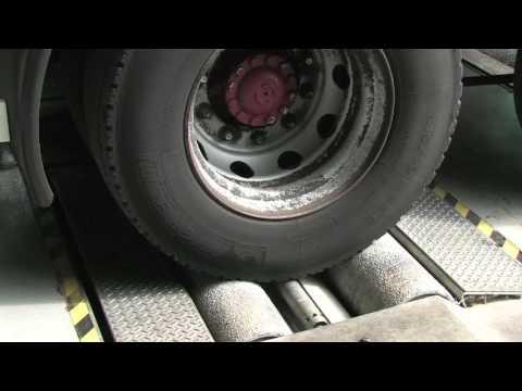 Линия диагностики для грузовых автомобилей