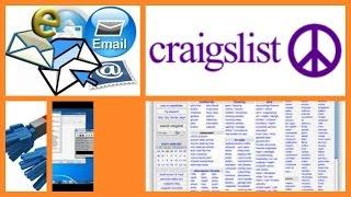 CRAIGSLIST Email GRABBER/Extractor SOFTWARE!