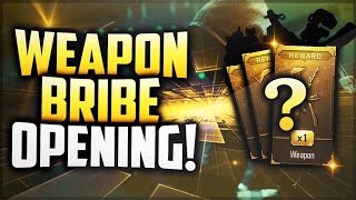 """Black Ops 3 - INSANE """"WEAPON BRIBE"""" + 500 CRYPTOKEY SUPPLY DROP OPENING! (BO3 Supply Drop Opening)"""