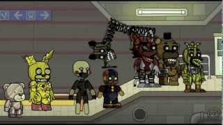 getlinkyoutube.com-Scribblenauts Unlimited 102 Five Nights at Freddy's 3 Animatronics in Object Editor