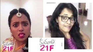 Kumari 21 F Dub Smash    Anasuya    Kriti Sanon    Rejina    Suma    Pranitha - Chai Biscuit