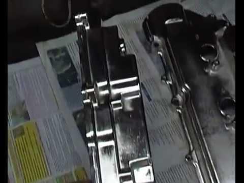 Хромированные крышки ГБЦ для Lexus RX330 (мотор 3MZ-FE)