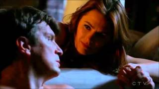 "getlinkyoutube.com-Castle 8x07 "" The Last Seduction"" Moments Caskett - End Scene Caskett kiss and Bed#First Wedding"