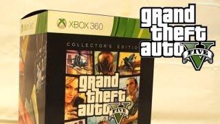 getlinkyoutube.com-GTA 5 - Collector's Edition Unboxing! (GTA V)
