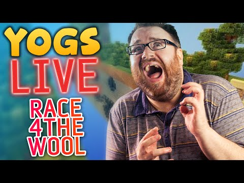 Race For The Wool #2: Yogscast Christmas Livestream 2013 - Lewis & Simon