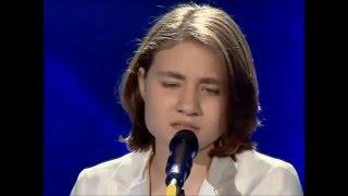 getlinkyoutube.com-''She Wolf'' - ( Nina Kipshidze X Factor )
