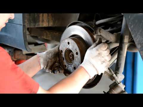 Замена колодок ручника на BMW 3 E46