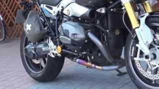 getlinkyoutube.com-チタンクロス ウルトラマン BMW Motorrad R nineT BMWモトラッド アール・ナインティ BMW Motorrad 90周年 スペシャルエディション