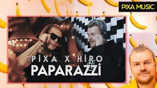 PIXA X HIRO - PAPARAZZI (OFFICIAL MUSIC VIDEO) width=