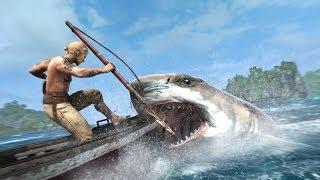 getlinkyoutube.com-Assassin's creed 4 [Pt1]:จับปลาฉลาม